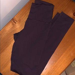 90 degree by reflex leggings plum color XS